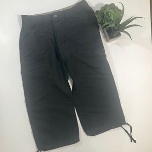 THE NORTH FACE Nylon Gray Hiking Shorts - Size 4